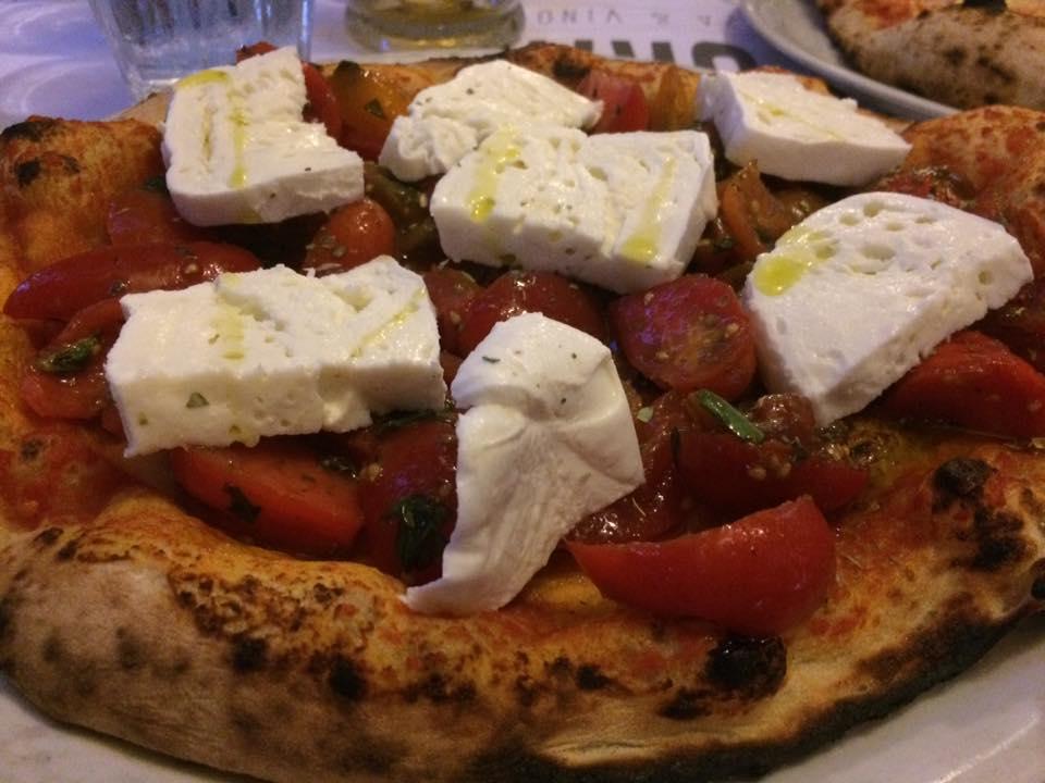 Sforno, la pizza Anacapri
