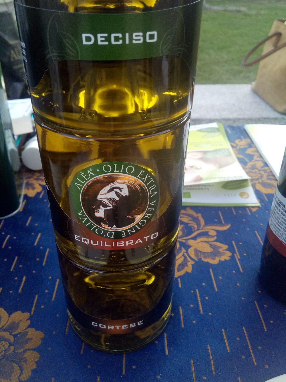 Tris di olio evo Azienda Alea