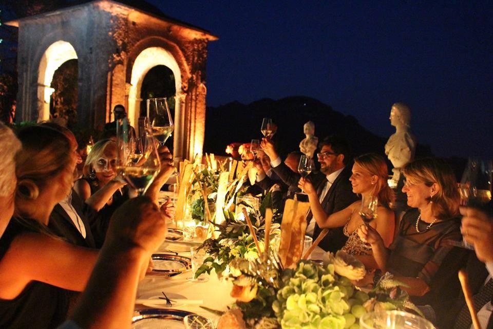Una cena dedicata alla famiglia Allegrini