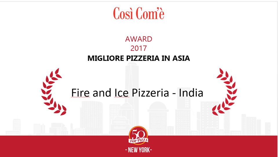 La migliore pizzeria in Asia