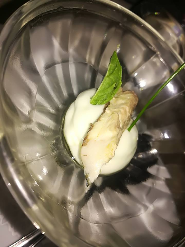 Ciccio Cielo Mare e Terra - Benvenuto della casa - sgombro con maionese al cetriolo