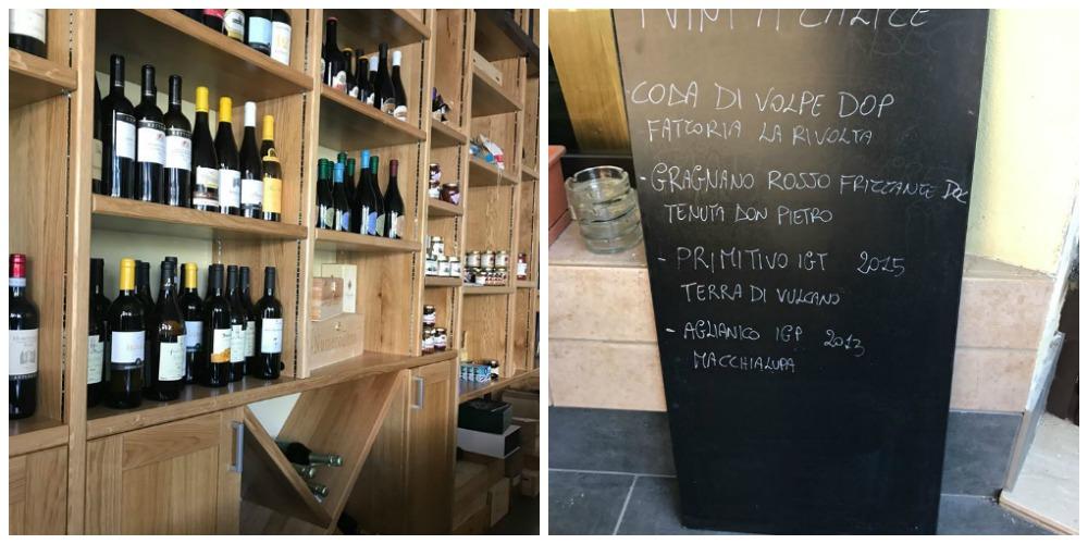 Antares Cafe' - espositore vini e vini al calice