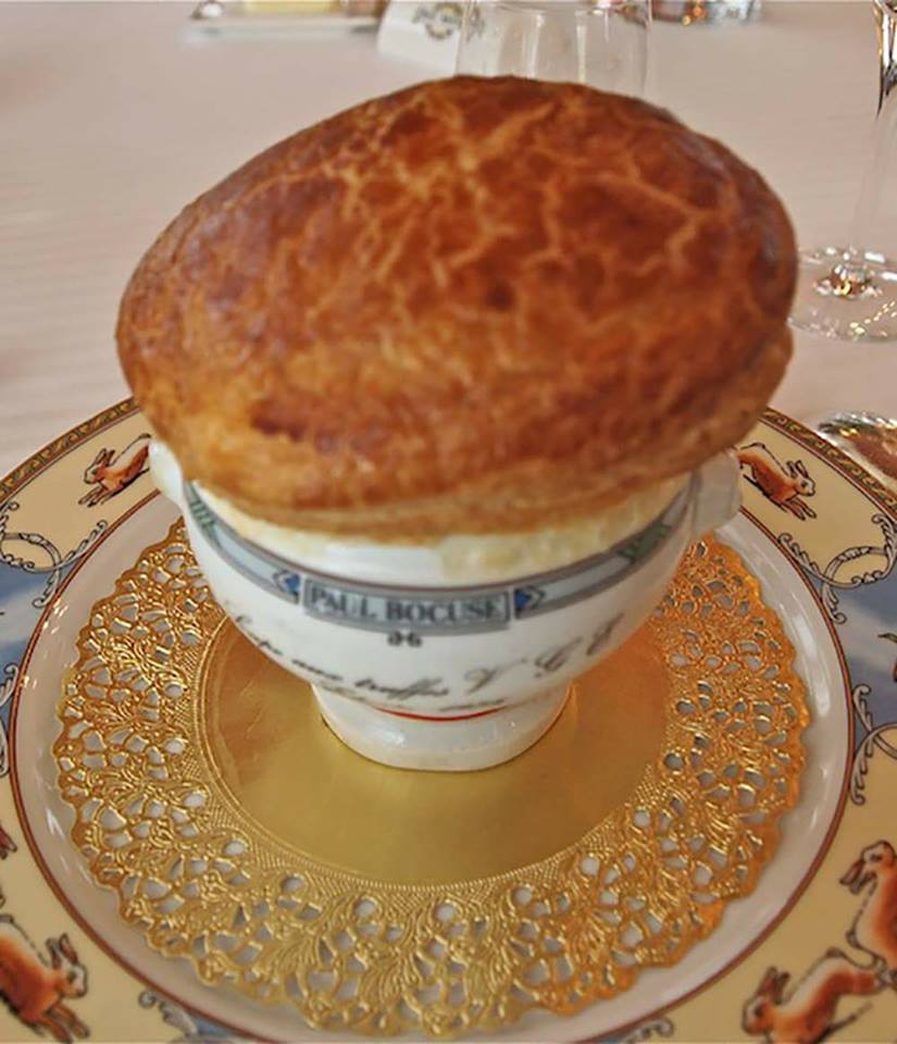 Paul Bocuse, zuppa VGE