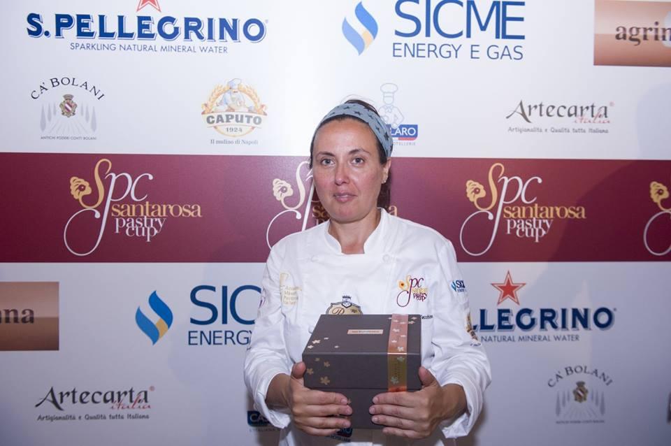 La vincitrice Carmen Vecchione di Dolciarte