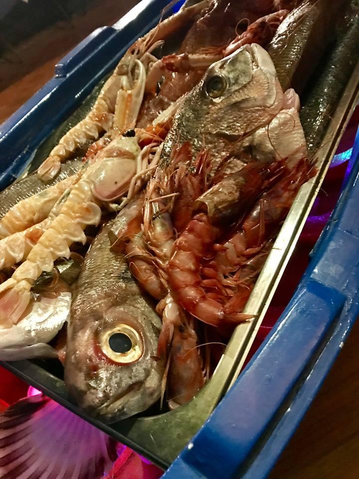 La Tonnarella, il pescato del giorno