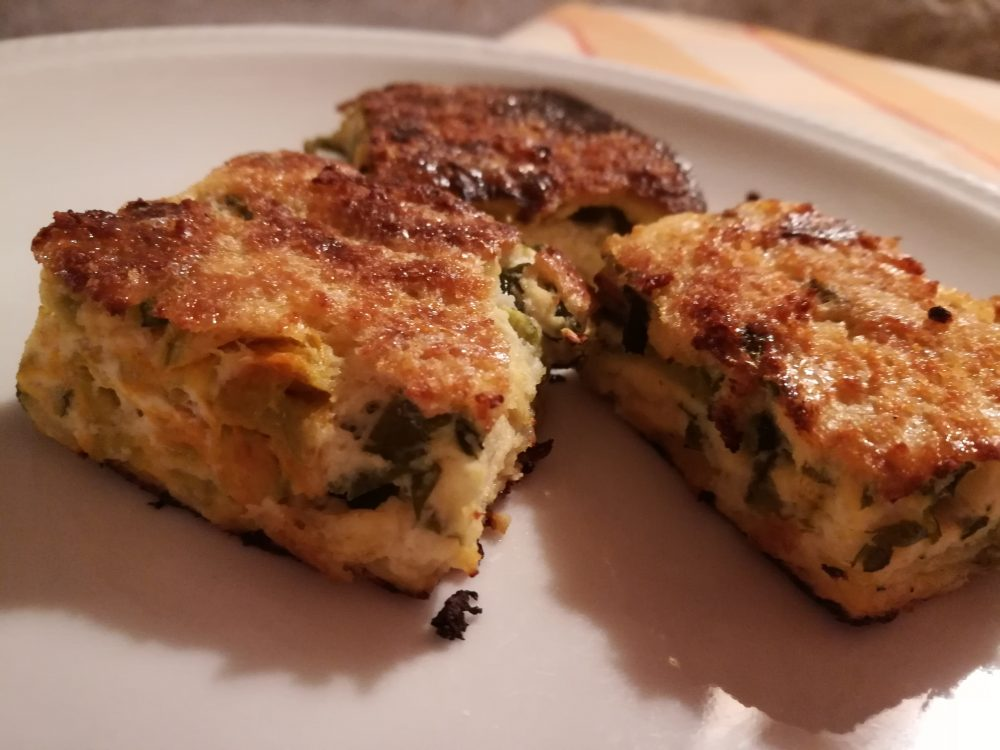 Agriturismo Aglio Piccolo - Frittatina di zucchine