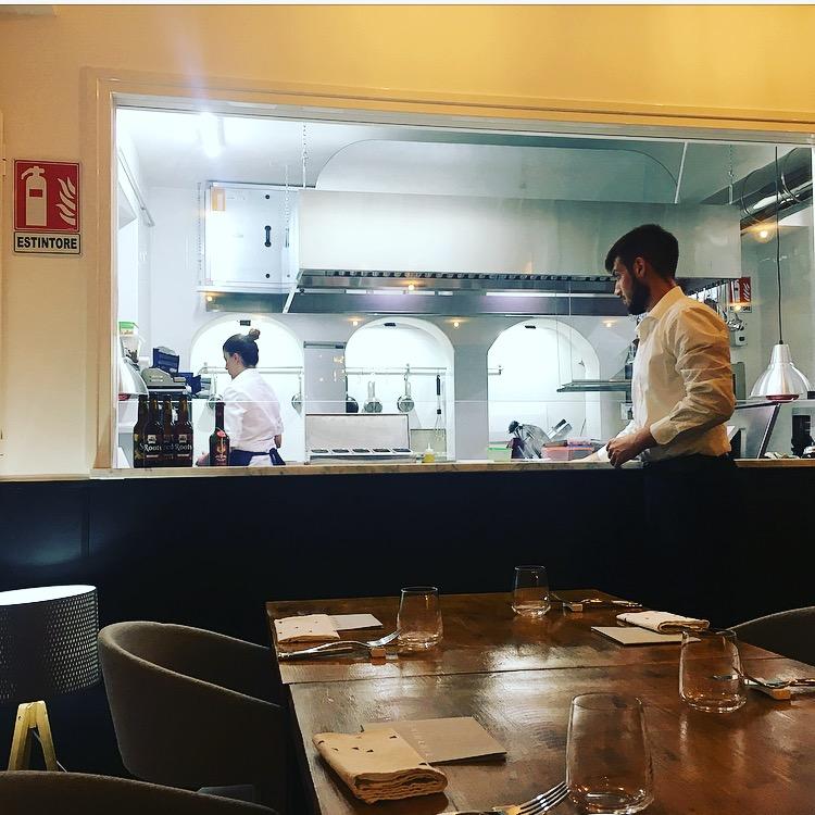 AnimaMia - Vista sulla cucina