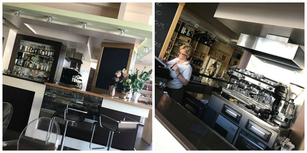 Antares Cafe' - interno