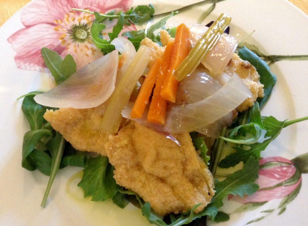 Buona Condotta, Ornago, milanesine di pollo in carpione