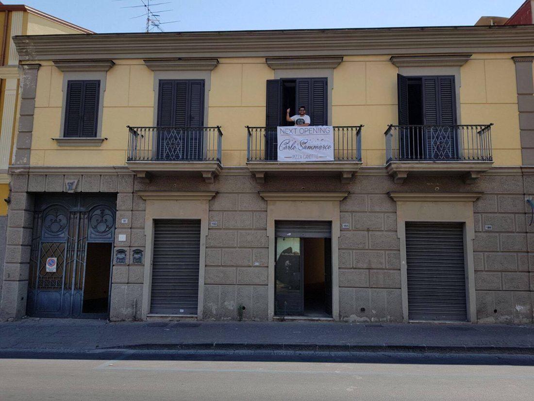 Carlo Sammarco a Frattamaggiore