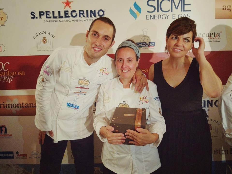 Carmen Vecchione, vincitrice del Santarosa Pastry Cup