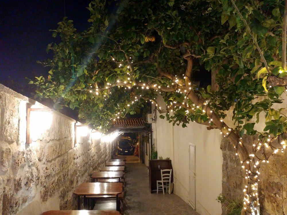 Casa Vitiello a Tuoro. Il meraviglioso corridoio d'ingresso
