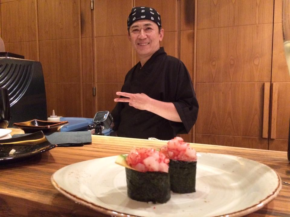 Jorudan Sushi, Chef Mori Suzuki
