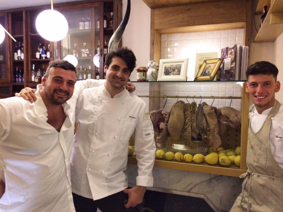 Vincenzo Russo, Marco Fiore e Agostino Riccio