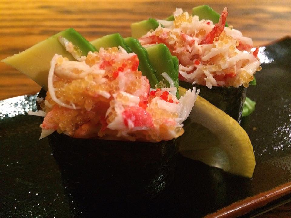 Jorudan Sushi, Gunkan Di King Crab