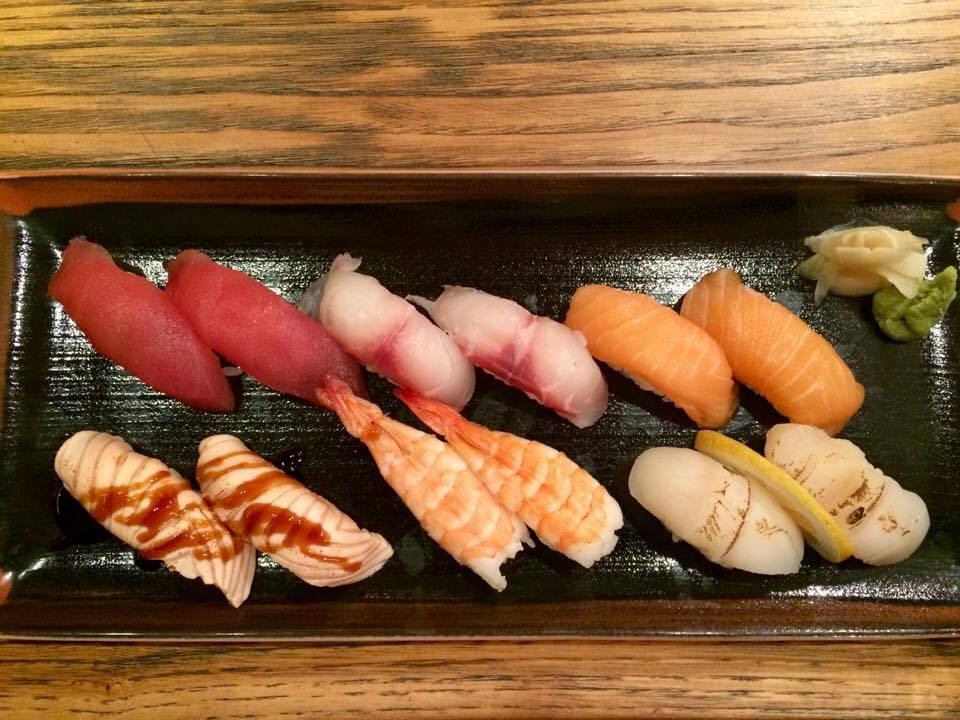 Jorudan Sushi, Selezione Di Nigiri