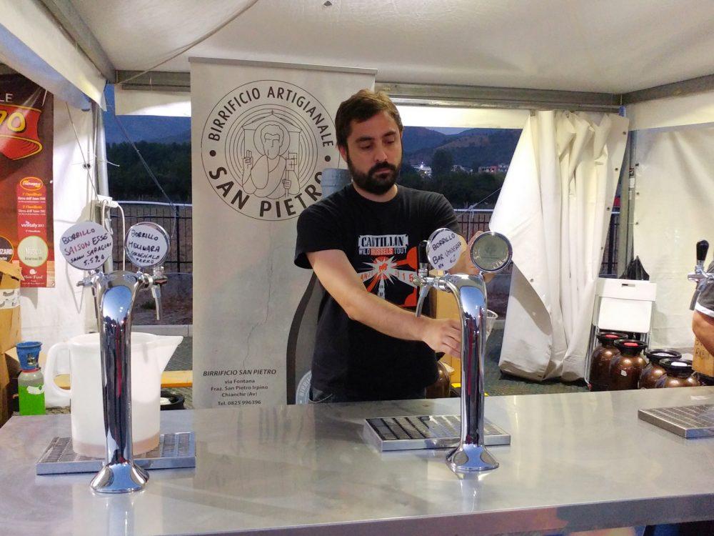 Festa della Birra Artigianale di Baronissi. XX Edizione - Anno 2017. Birrifici San Pietro e Borrillo