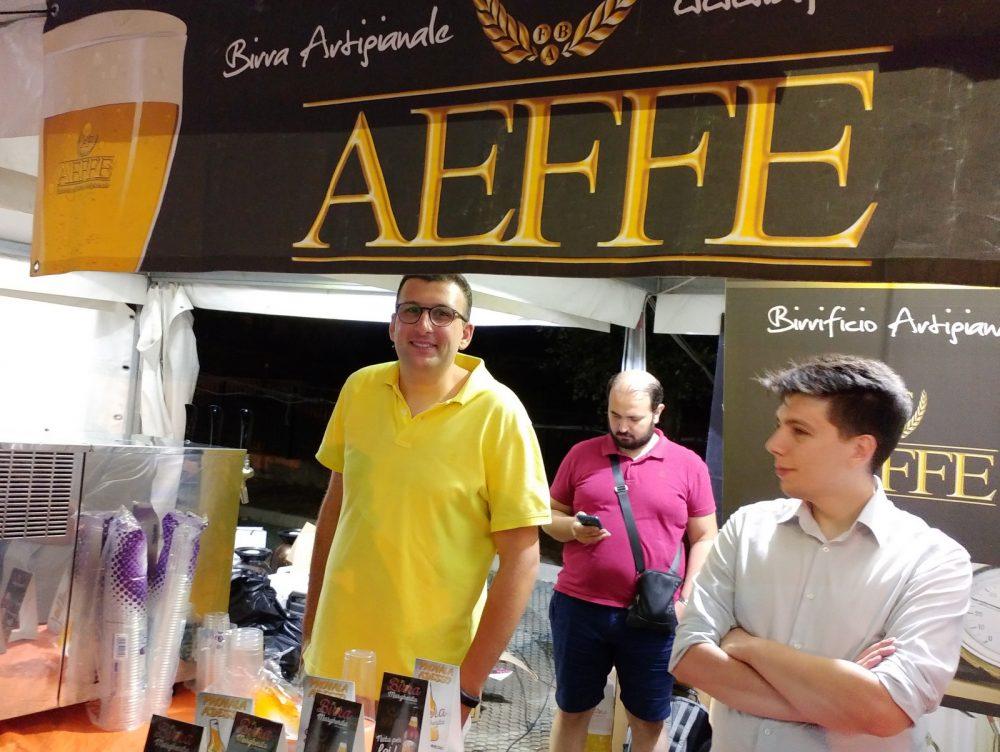 Festa della Birra Artigianale di Baronissi. XX Edizione - Anno 2017. Birrificio Aeffe