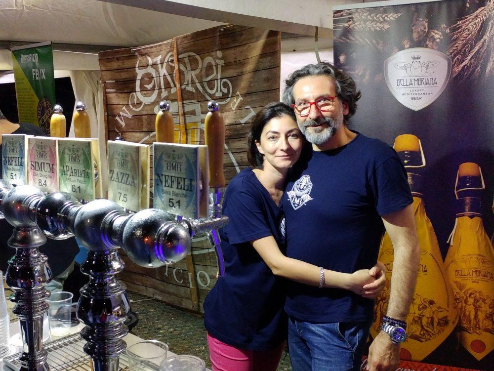 Festa della Birra Artigianale di Baronissi. XX Edizione - Anno 2017. Birrificio Bella 'Mbriana