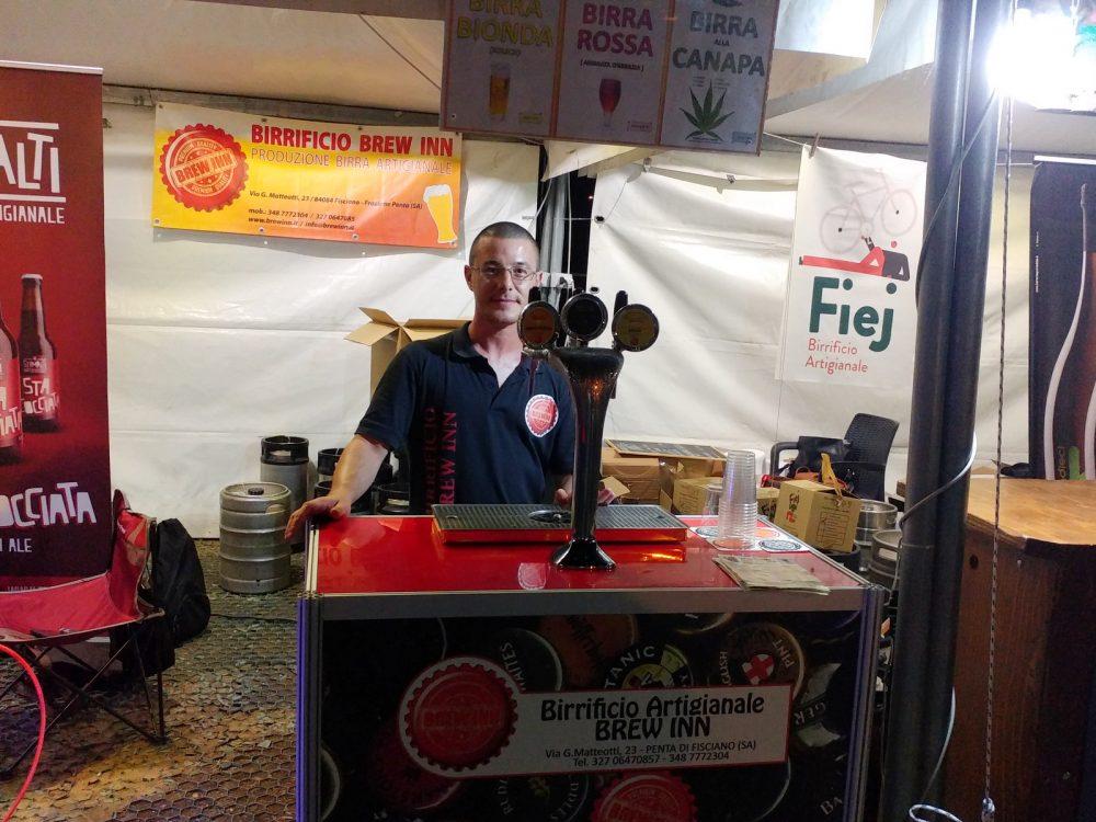 Festa della Birra Artigianale di Baronissi. XX Edizione - Anno 2017. Birrificio Brew Inn