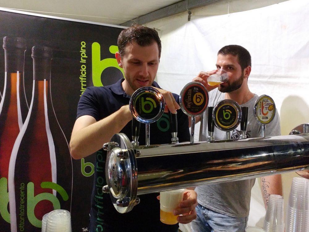 Festa della Birra Artigianale di Baronissi. XX Edizione - Anno 2017. Birrificio Irpino