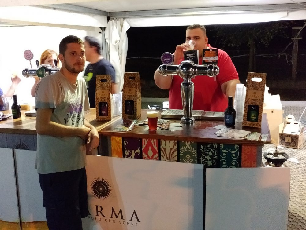 Festa della Birra Artigianale di Baronissi. XX Edizione - Anno 2017. Birrificio Karma