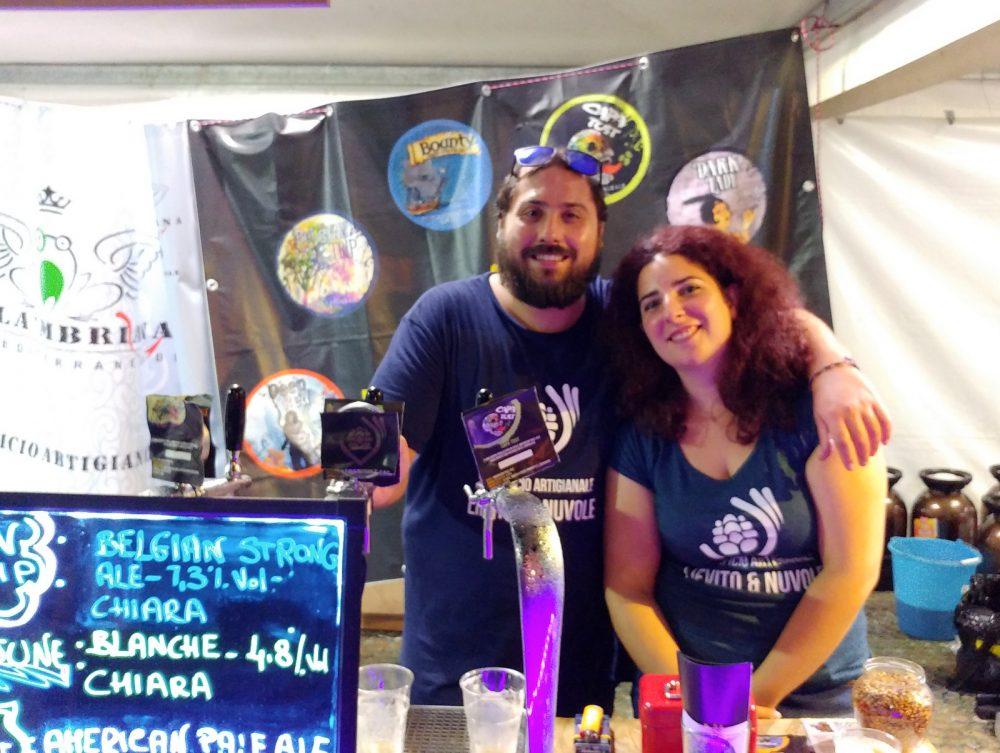Festa della Birra Artigianale di Baronissi. XX Edizione - Anno 2017. Birrificio Lievito e Nuvole