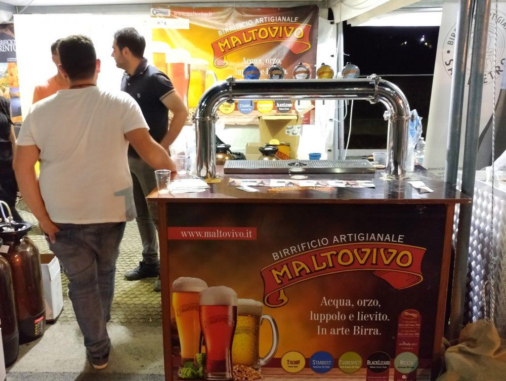 Festa della Birra Artigianale di Baronissi. XX Edizione - Anno 2017. Birrificio Maltovivo