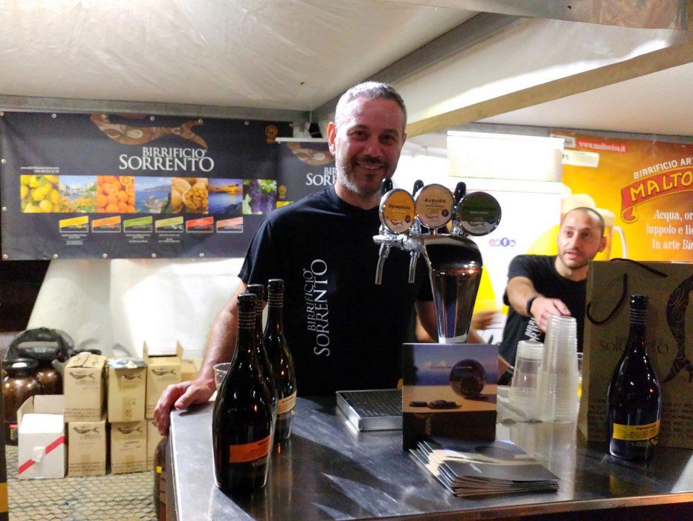Festa della Birra Artigianale di Baronissi. XX Edizione - Anno 2017. Birrificio Sorrento