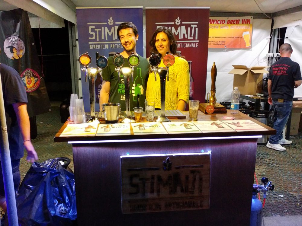 Festa della Birra Artigianale di Baronissi. XX Edizione - Anno 2017. Birrificio StiMalti