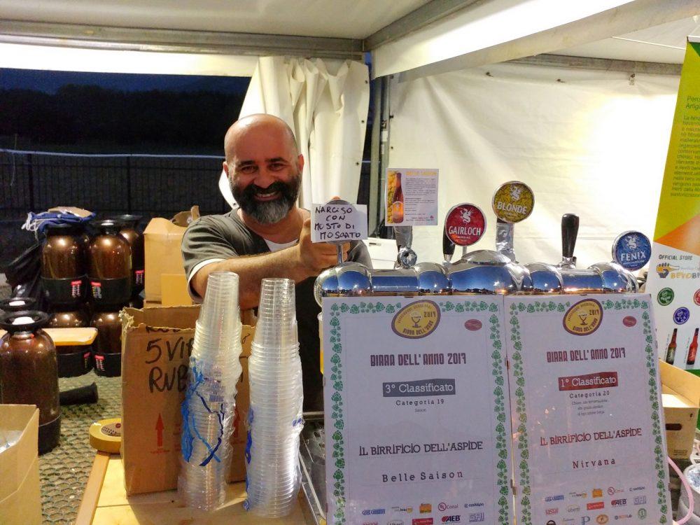 Festa della Birra Artigianale di Baronissi. XX Edizione - Anno 2017. Birrificio dell'Aspide