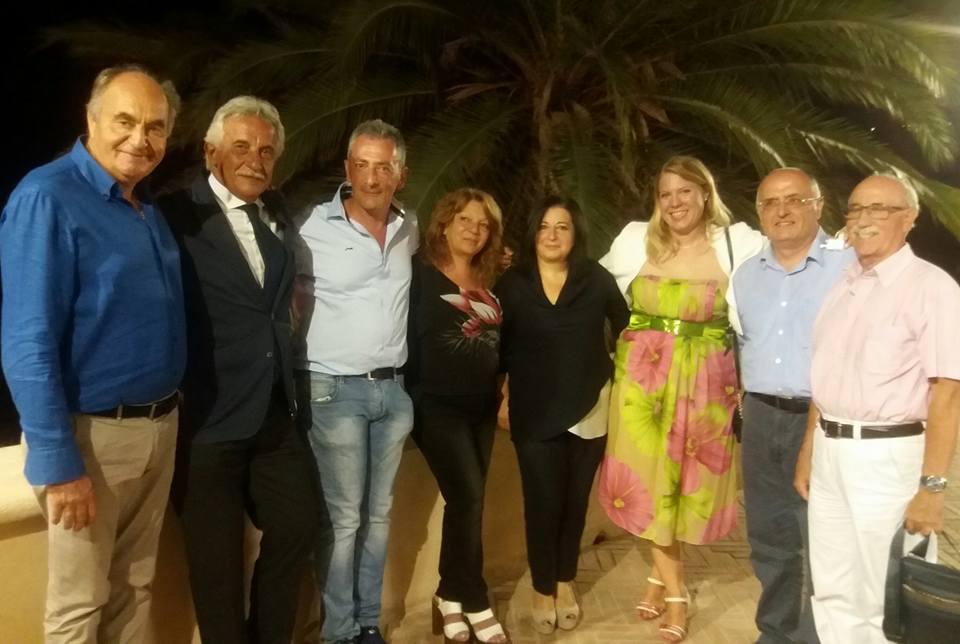 Festival della Dieta Mediterranea a Pioppi. Foto di gruppo