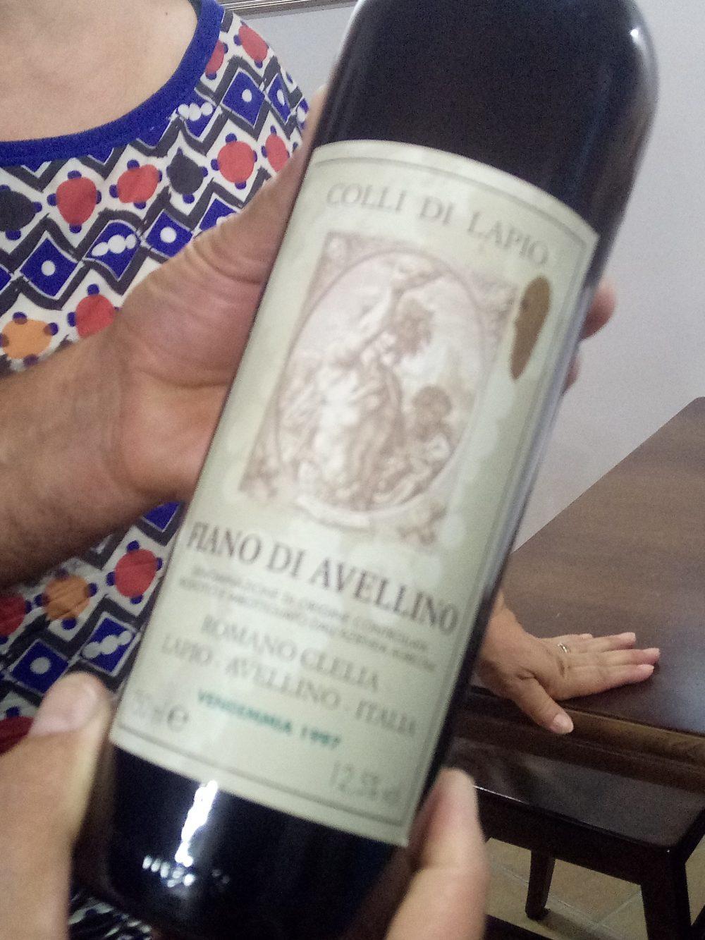 Fiano di Avellino 1997 di Colli di Lapio