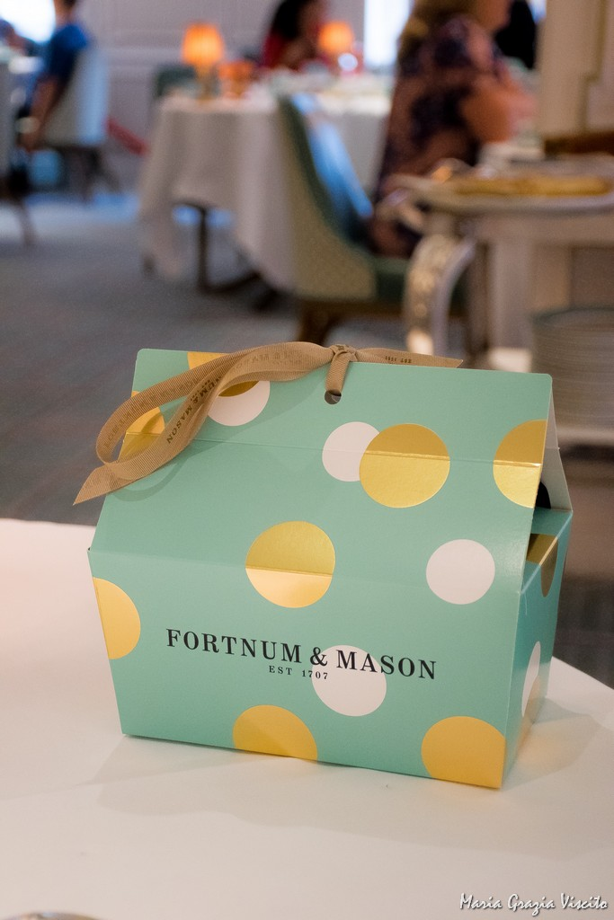 Fortnum and Mason - doggy bag