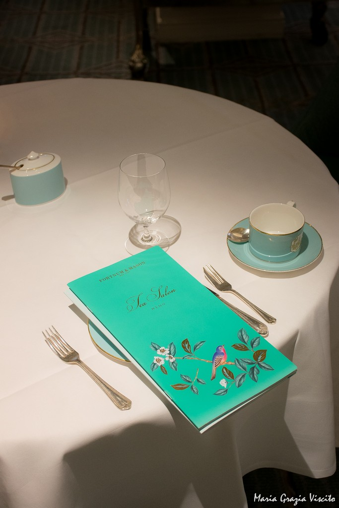 Fortnum and Mason - tavolo