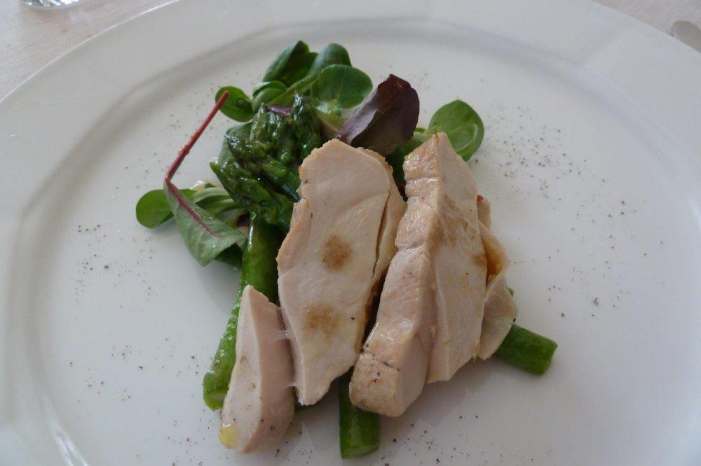 Gianni Sarzano, pollo ficatum e asparagi