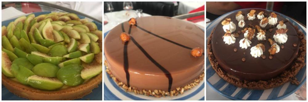 Grand Hotel Quisisana, torte