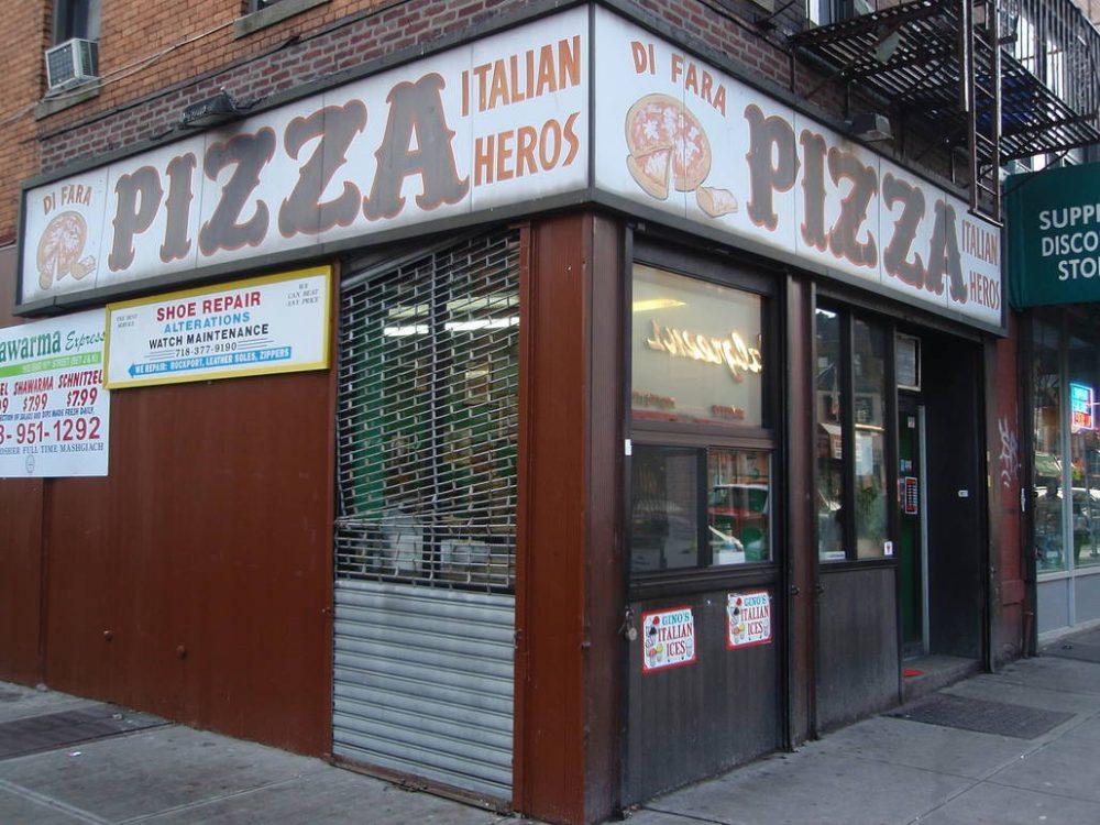La pizzeria Di Fara