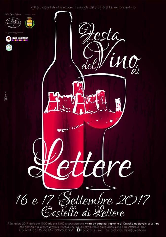 Locandina vino lettere 2017