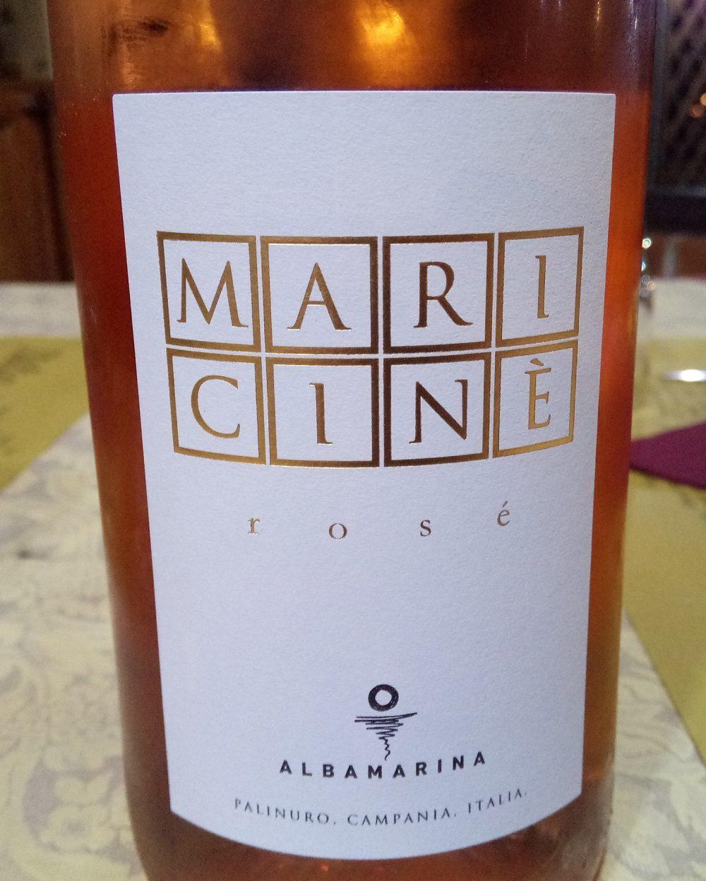 Maricine' Rosato Paestum Igp 2016 Albamarina