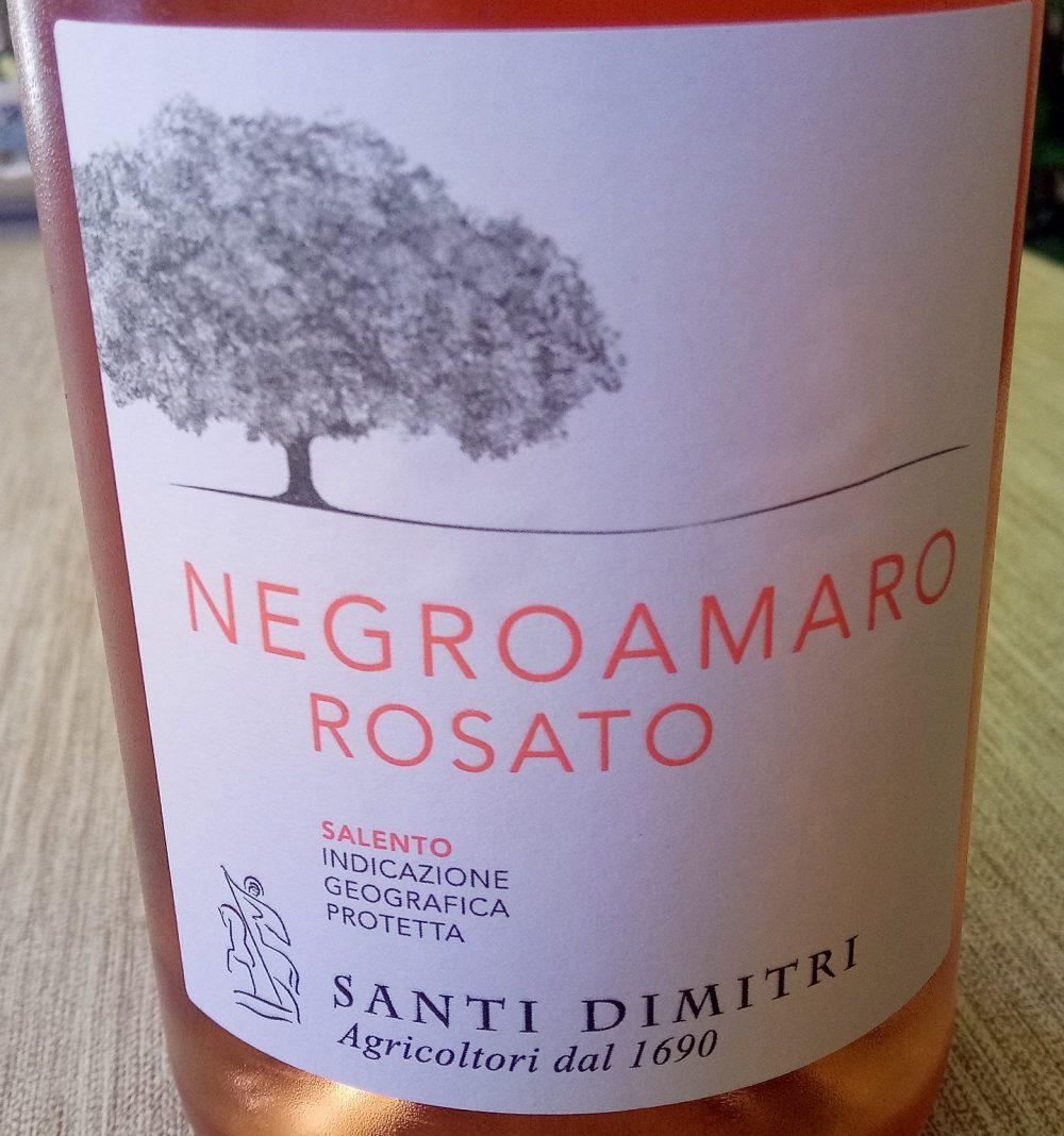 Negroamaro Rosato Salento Igp 2016 Santi Dimitri