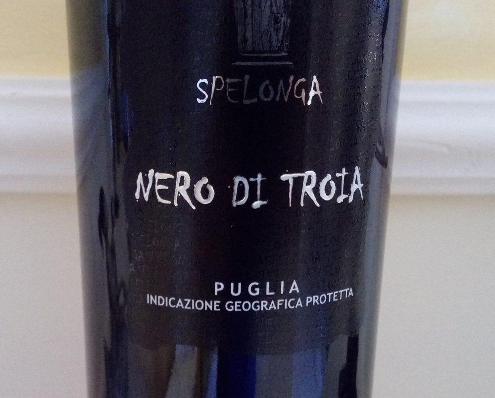 Nero di Troia Puglia Igp 2016 Spelonga