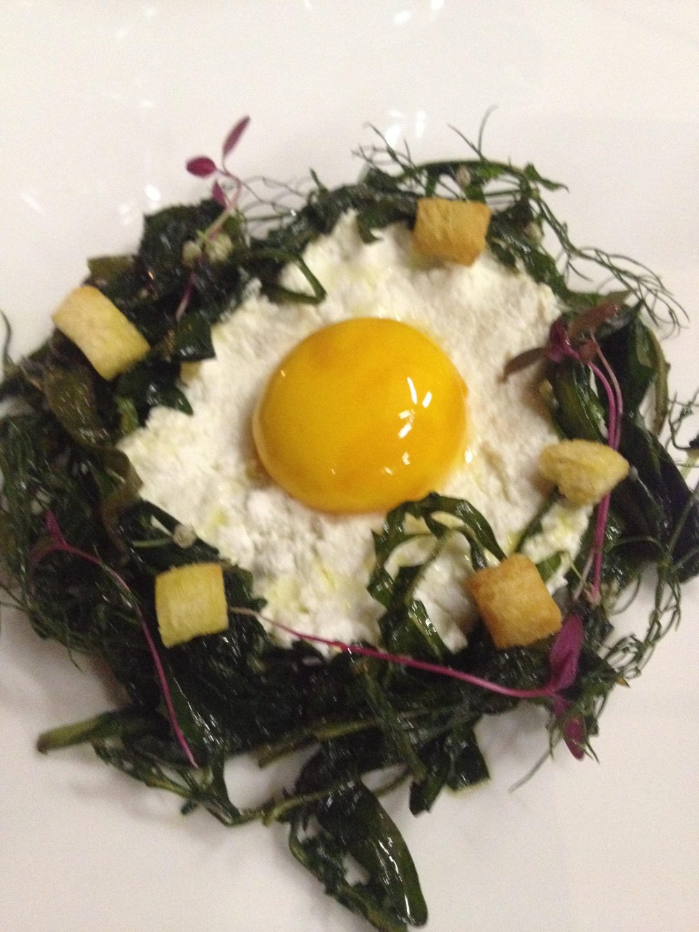 Osteria 1861, uovo