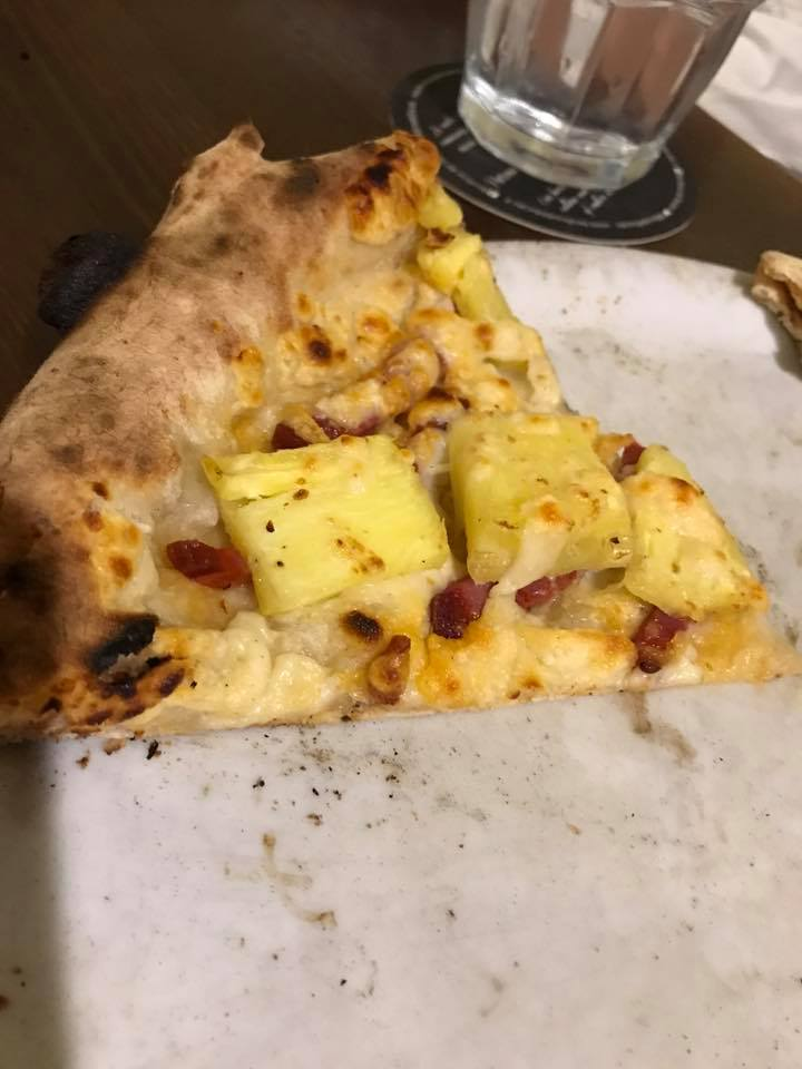 Pizza all'ananas Stefano Callegar