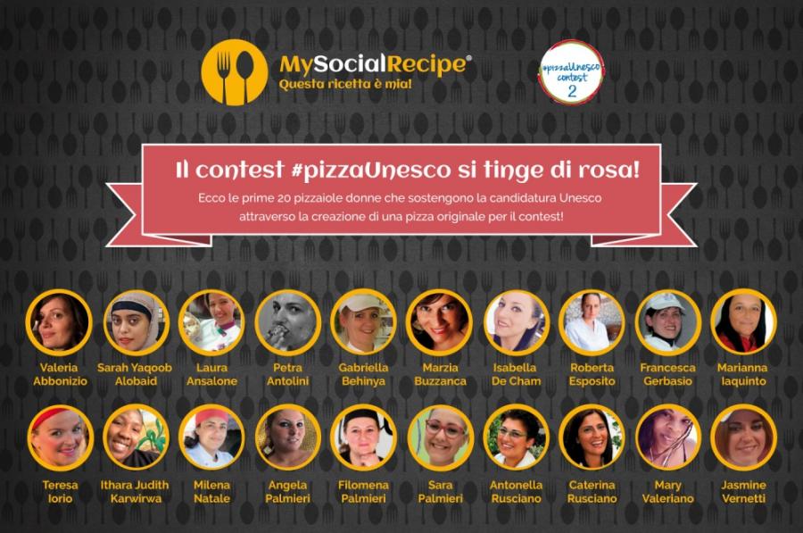 Pizzaiole contest pizzaUnesco