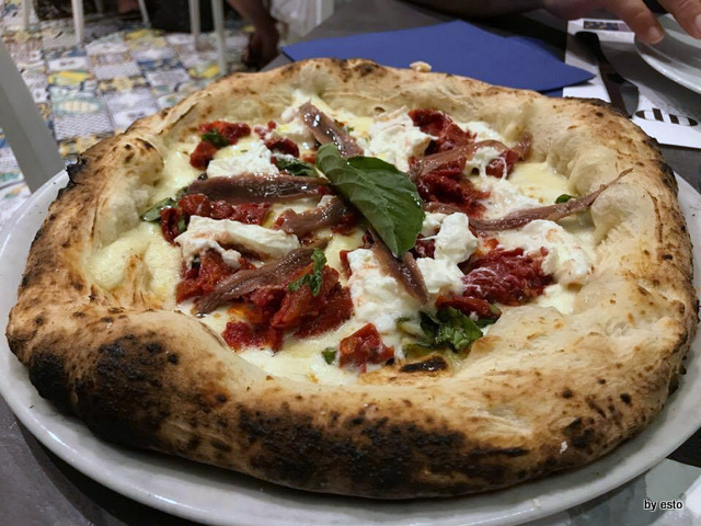 Pizzeria Capri pizza Venere Bianca