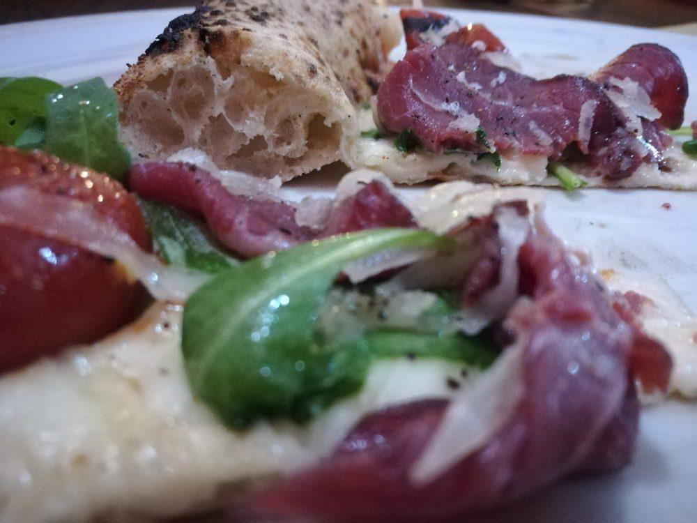 Pizzeria Pulcinella 'da Ciro' -Alveolatura e Ingredienti