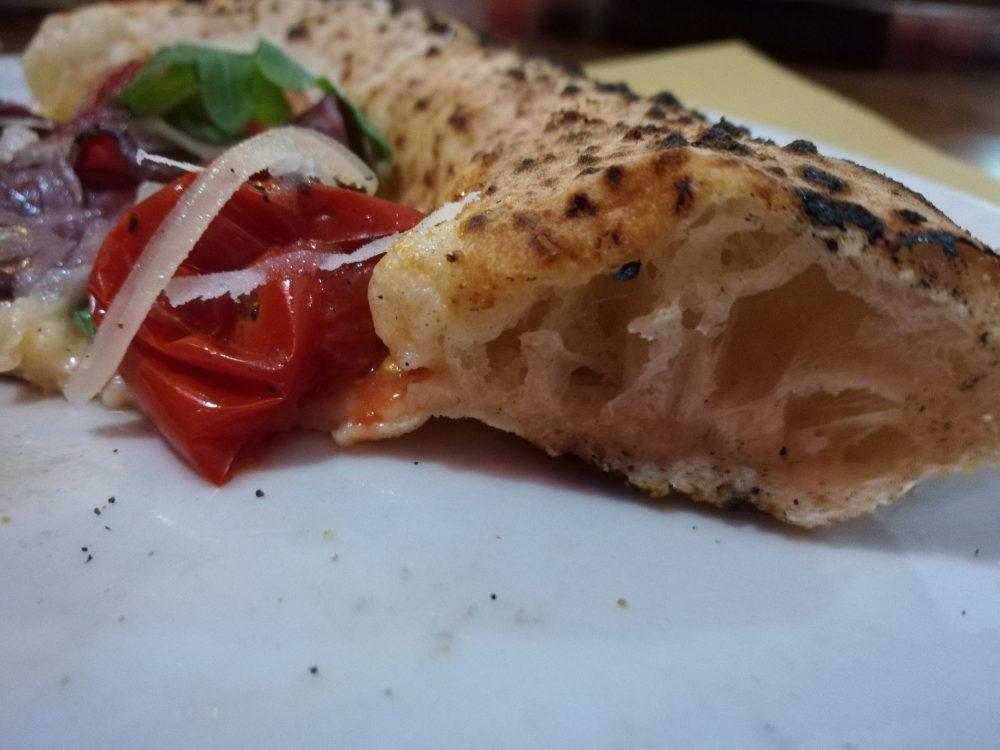Pizzeria Pulcinella 'da Ciro' - alveolatura