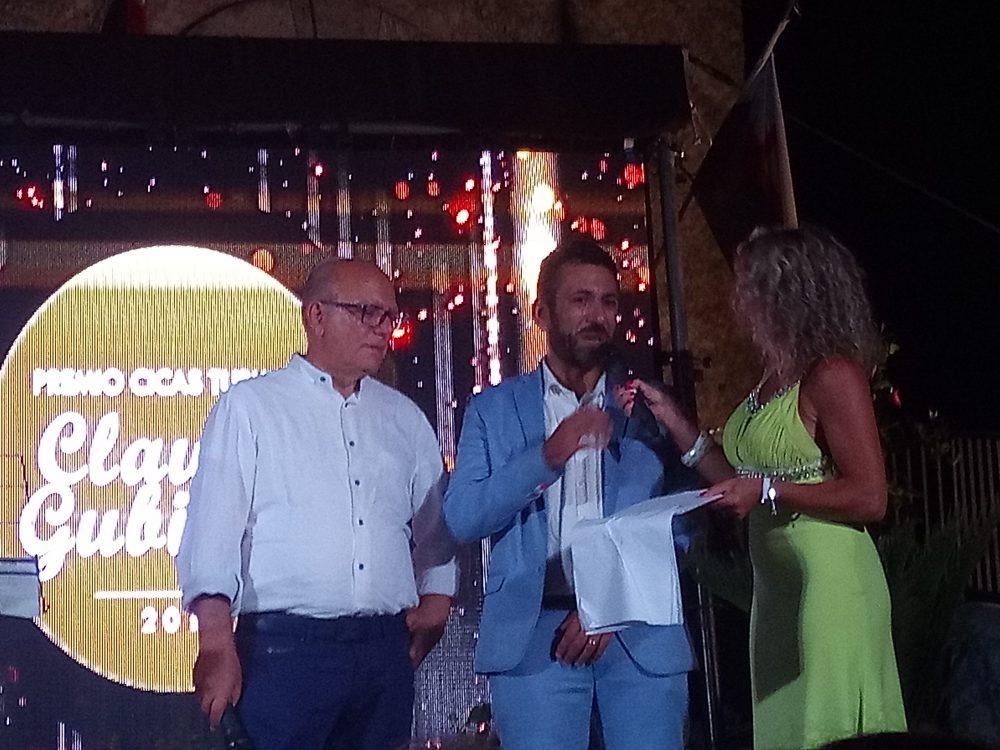 Premio Cicas a Torraca Claudio Gubitosi, Francesco Bianco e Carmela Santi