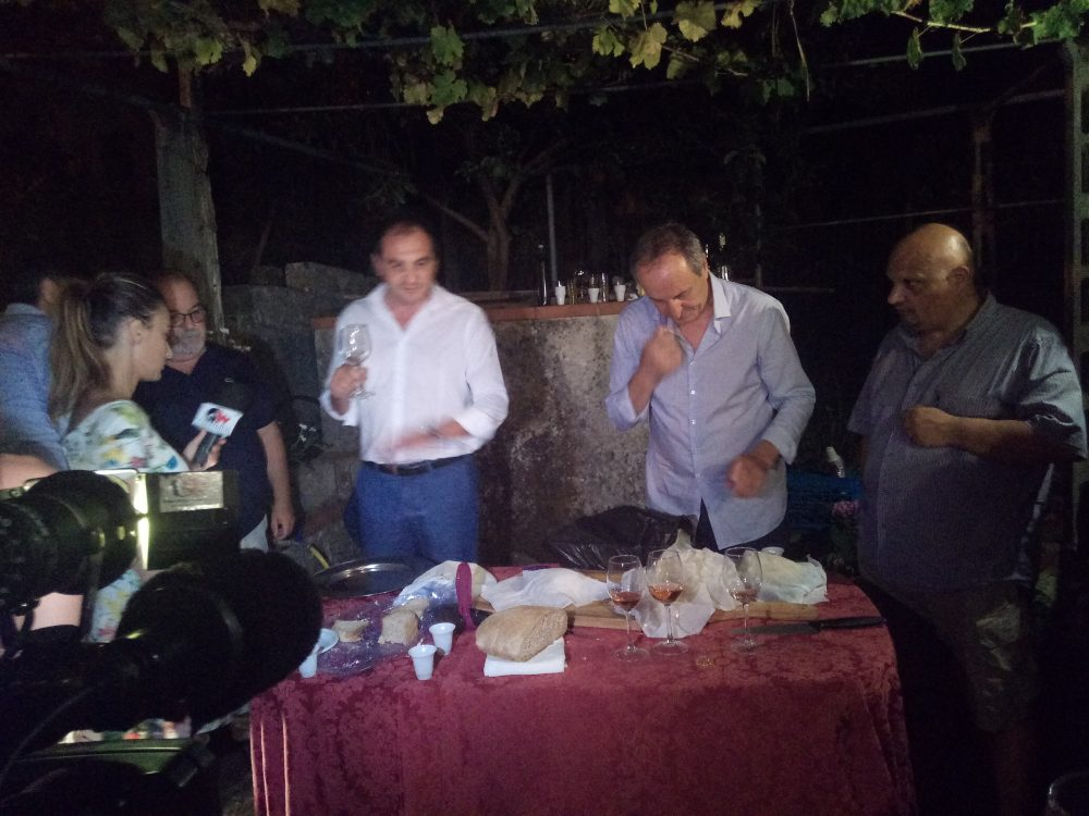 Raffaele Sacchi, Gerardo Perillo e Roberto Rubino